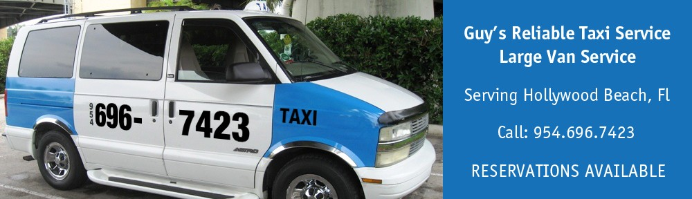 Taxi Hollywood FL 954-696-7423